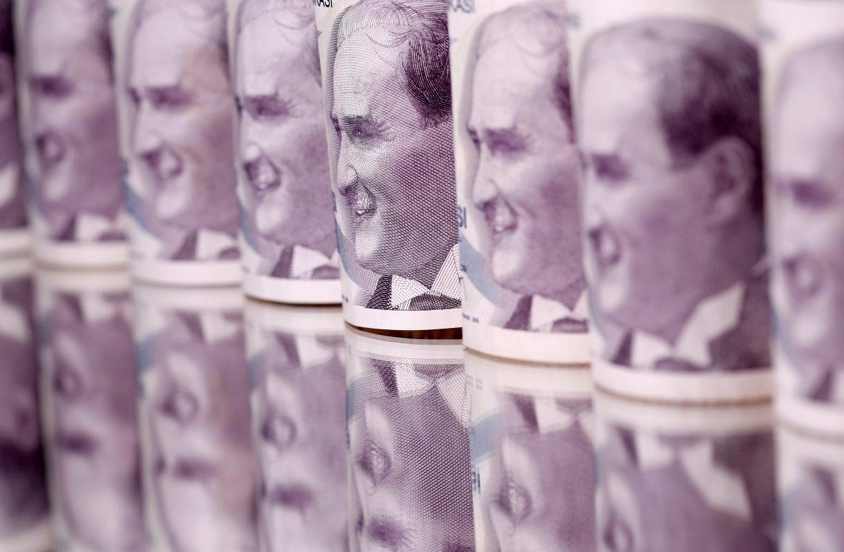 Διοικητής Τράπεζας - τουρκική λίρα